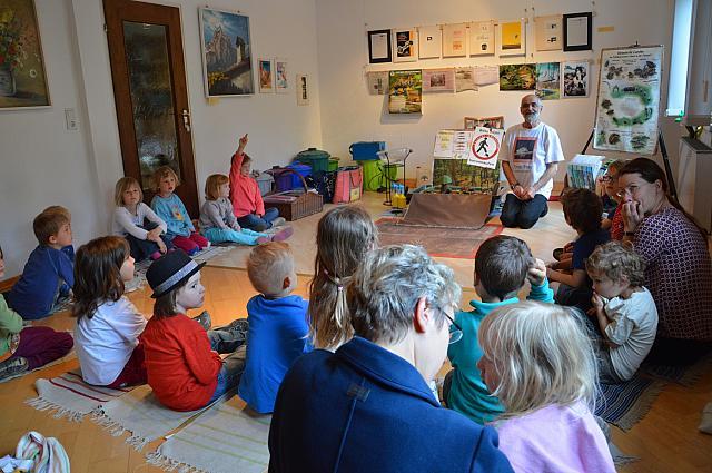 Amphibienschutz–Präsentation: Rettet die Frösche von Ernst Frey