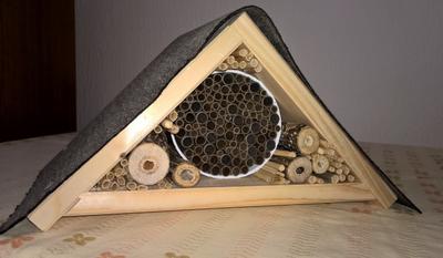 Kinderwinterwerkstatt Wildbienenhotel